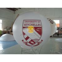 Buy cheap Digital printing business ad helium balloon with 0.18mm PVC for opening event product