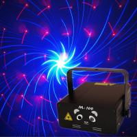 Buy cheap Blong M-100 Disco Bar Mini laser light show 250mW Red&Blue Pro Stage Lighting from wholesalers