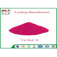 Buy cheap Textile Dyeing Chemicals C I Vat Red 10 Vat Red Fbb Good Water Diffusion product