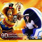 Buy cheap Rotation Platform Panoramic 9D Virtual Reality Simulator Mini Seats For Supermarket product