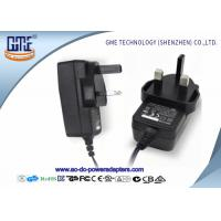 Buy cheap 1.5m Cable UK 12V 1A Universal AC DC Power Adapter With CE / ROHS Certificated product