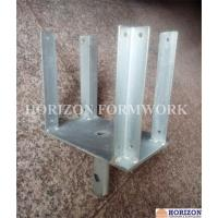 Buy cheap Metal Concrete Forming Accessories , Four Way Forkhead Holding H20 Beams product