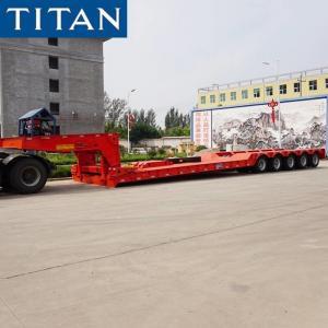 China 5 Line 10 Axles 150 Ton Detachable Gooseneck Trailer for Sale on sale