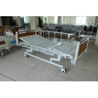 Buy cheap Super Low Durable Three Functions Mechanical Medical Care Bed with HPL Head Foot Board For Nursing Home from wholesalers