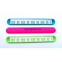 Buy cheap New design Silicone Slap Ruler Bracelet, color Silicone Snap Bracelet Ruler,free sample product