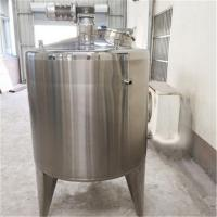 Buy cheap 0.75-15KW Stainless Steel Mixing Tanks 10000L Fermentation Storage Heating from wholesalers