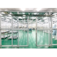 Buy cheap Class 1000 SUS 304 Frame Modular Clean Room / Softwall Clean Room Facility product
