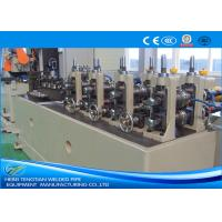 Buy cheap ERW Pipe Machine Less Waste TIG Welding With PLC Control ISO Certification product