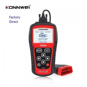 China scanner automotriz Automotive Diagnostic Scan Tools , KW808 Auto Car Diagnostic Scanner on sale