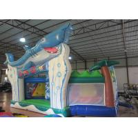 Buy cheap Outdoor Games Toddler Bouncy Castle , Small Indoor Bounce House 9.5 X 6 X 5m product