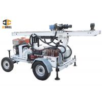 Buy cheap 24kw Engine Power Water Well Drilling Rig Dth Drilling Machine Trailer Mounted from wholesalers