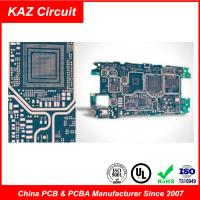Buy cheap ENIG/HASL/OSP HDI Rapid Prototyping Pcb FR4 Multilayer Printed Circuit Board product