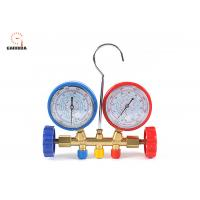 Buy cheap Easy To Read Welding Tools And Equipment Freon Gauge Set With Couplers product