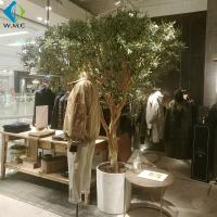Buy cheap Customized Fake Indoor Olive Tree , Artificial Bonsai Tree For Restaurant Decoration product