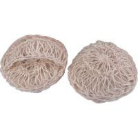 Buy cheap 100% Natural Sisal Bath Scrubber Sponge Silkier Skin Bath Body Scrubber product