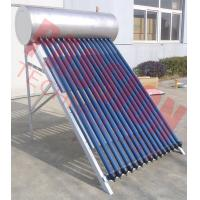 Buy cheap Stainless Steel Anti Freezing Heat Pipe Solar Water Heater With Intelligent Controller product