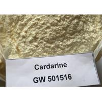 Buy cheap Bodybuilding Sarms Raw Powder GW-501516 / Cardarine Sarms For Weight Loss 317318-70-0 product