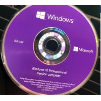 Buy cheap French Windows 10 Pro Key Code Windows 10 Professionnel Version complete DVD Package product