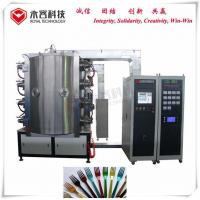 Buy cheap Brass / Bronze Pvd Vacuum Coating Machine , Forks Tin Gold Plating Equipment product