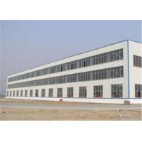 China Lightweight Steel Frame Structure Construction Building For Dormitory on sale