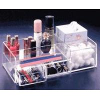 Buy cheap Fashionable Cosmetic Drawer Acrylic Organizer With Excellent Service from wholesalers