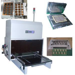 Buy cheap Pneumatic PCB Punching Machine PCB Singulation for Rigid Flexible PCB product