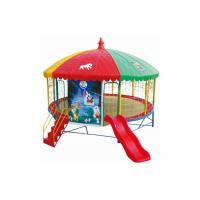 Buy cheap Safety Indoor Bungee Trampoline , Inflatable Bungee Trampoline With Protect Net product