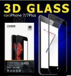 protetor de vidro moderado telefone celular da tela da tampa completa de 3D 0,15 milímetro 9H para Iphone 7/7plus