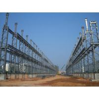 Buy cheap High Strength, Light Deadweight Steel Building Structures for Workshop, High-Rise Building product
