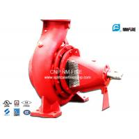 Buy cheap 750GPM@180PSI End Suction Fire Pump Centrifugal Ductile Cast Iron Materials product