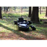 Buy cheap Black radio controlled bait boat ABS engineering plastic hull boat OEM / ODM product