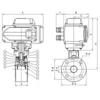 Buy cheap Electronic inserting hard sealed ball valve product
