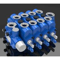 Buy cheap Engineering Multi Way Hydraulic Directional Control Valve 4GCJX-G12L product