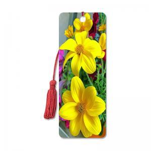 Buy cheap Flower Design Souvenir 3D Lenticular Bookmark / 3D Lenticular Printing product