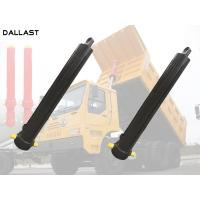 Buy cheap One Acting Telescopic Hydraulic Cylinder Agricultural Farm Truck Chrome product