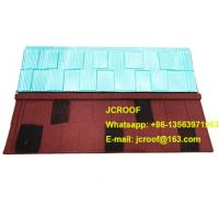 Industrial corrugated roofing sheets Heat insulation blue shingle / classic / bond