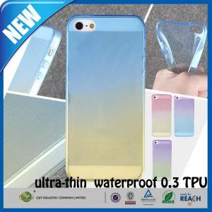Buy cheap Cas fait sur commande mat transparent antichoc de téléphone portable de l'iphone 5s en caoutchouc TPU product
