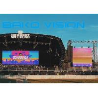 Buy cheap P3.91mm HD LED Video Wall Stage Rental 500*500mm Panel 1920HZ 100000 Hrs Life Span product