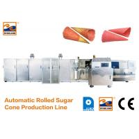 China Durable Sugar Cone Production Line / Industrial Ice Cream Maker 7000L*2400W*1800H on sale