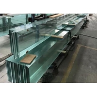Buy cheap Custom Made Large Tempered Glass Panels For the Size 3300X9000mm from wholesalers
