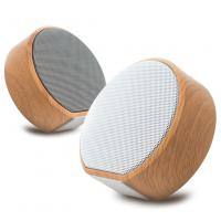 Buy cheap BT Speaker New Wireless Wood Audio Intelligent Induction Creative Subwoofer Charging Radio product
