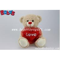 Buy cheap Manufacturer of Plush Stuffed Bear With Red Heart Pillow product