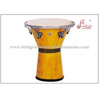 Buy cheap Two ply white toon wood Percussion Musical Instruments Djembe Drums ISO9001 / CQM product