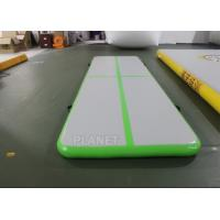 China 3.5m Air Floor Tumbling Mat / Inflatable Air Jump Track For Gymnastics on sale