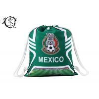Buy cheap Mexico Folding Sport Printed Drawstring Backpack Large Size Travel Storage Use product