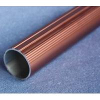 Buy cheap Round T6061 Anodized Aluminum Tube , Powder Spray Coated Brushed Aluminum Tubing product