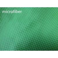 Buy cheap Green 150cm Width Microfiber Cleaning Cloth 300gsm Density Waffle Fabric Absorbent product