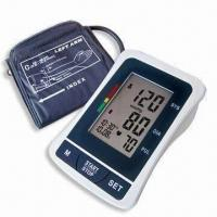 Buy cheap Digital Blood Pressure Monitor with Arm-type, Date/Time Stamp and Deluxe Carry Case product