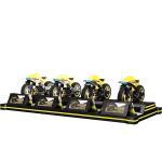 Buy cheap CE Virtual Reality Simulator , RGB LED 220v 4 Players Super Fun Video VR Motorbike Racing Game Machine product