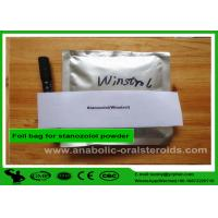 Buy cheap Stanozolol Winstrol Anabolic Oral Steroids , Raw Hormone Powders 10418-03-8 For Cutting Cycle product